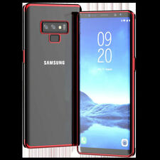 For Samsung Galaxy Note 9 8 S9 Luxury Ultra Slim TPU Soft Skin Clear Case Cover
