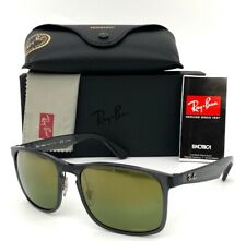 Ray Ban CHROMANCE RB4264 876/60 Gray /  Green Mirror  Polarized  55mm Sunglasses