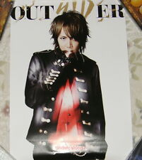 Japan SID OUTSIDER 2014 Taiwan Promo Poster (MAO Ver.)