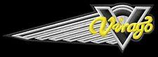 Yamaha Virago wing XV750 XV1100 XV750DX ecusson brodé patche Thermocollant patch