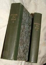 DER IDIOT Fyodor Dostoyevsky 2 Volumes German Translation Klara Brauner 1890+