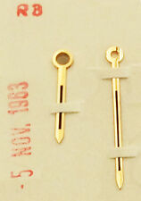 Gen. Omega Seamaster Hr & Min Domed Gold Color Dauphine Hands 13.5mm Long