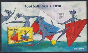 C405. Sierra Leone - MNH - 2016 - Sports - Football - Russia - Bl.