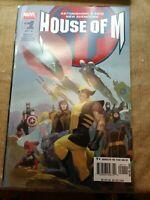 House of M #1 (2005) 1st Print - Marvel Comics - X-Men Wandavision Disney 9.4 NM