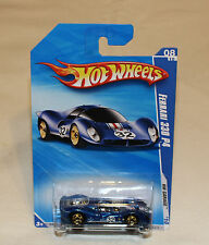 2010 Hot Wheels HW Dream Garage #84 Ferrari 330 P4 Blue New