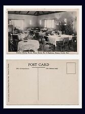 CANADA ONTARIO STONEY CREEK DINING ROOM AT THE PINES HOTEL HIGHWAY 8 CIRCA 1940