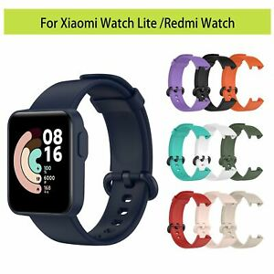 Sport Silikon Ersatz Armband Uhrenarmband für Xiaomi Redmi/MI Watch Lite