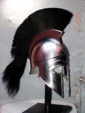 Medieval Greek Corinthian Helmet Larp Re-enactment Role-Play Movie Prop Costume