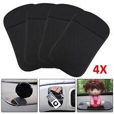 4x Auto KFZ Anti-Rutsch-Matte Haft Pad Armaturenbrett für Handy Navi Smartphone