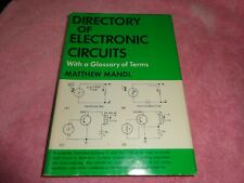 1966 Matthew Mandl DIRECTORY OF ELECTRONIC CIRCUITS: WITH A GLOSSARY OF TERMS