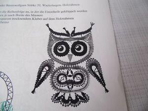 Klöppeln Klöppelbrief  Uhu 3026 Fensterschmuck Handarbeit  Dekoration Erzgebirge