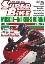 RG250 Gamma GSX-R750 Le Mans IV SFC GPZ1000RX GSX1100E 350 Sport MV Agusta 750S