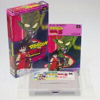 Dragon Ball Z Super GokuDen Nintendo Super Famicom SFC Japan Import NTSC-J Comp