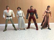 Kenner LFL 1995-8 Figures - Star Wars - 2x Luke Skywalker and 2x Princess Leia