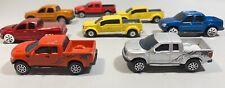 Maisto Pickup Truck Lot -Ford F150,Mighty F350,Sport Trac,Dodge RAM 1/64 Diecast