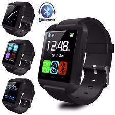 Intelligente Orologio Bluetooth Smart Watch Per Smartphone Android IPhone Nero