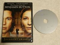 The Curious Case of Benjamin Button (DVD, 2009) Free Shipping - Used