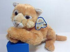 New Aurora Flopsies Collection Lion Tiger Cat Cub Pecos Soft Baby Plush Stuffed