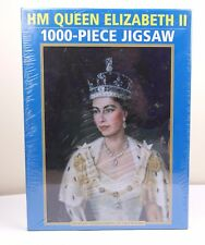 HM Queen Elizabeth II - 1000 Piece Jigsaw Portrait By Lydia De Burgh Bridgeman