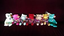 TY Beanie Babies Lot of 7 Different Retired BIRTHDAY BEARS 1999, 2001 & 2002