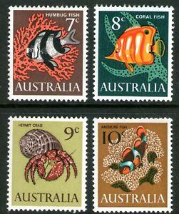 Australia 1966 Marine Life set of 4 Mint Unhinged