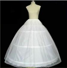 2017 New White 3-HOOP 1 layer bride Wedding dress Crinoline/Petticoat