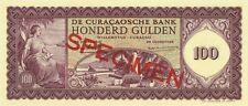 Netherlands 100 gulden 1958 specimen UNC