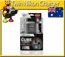 DSLR Twin Charger Hahnel Pro Cube for  Nikon EN-EL14 EN-EL15