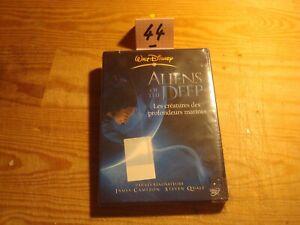 "DVD ""ALIENS OF THE DEEP"" documentaire de James CAMERON / Disney// Neuf"