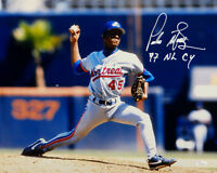 Pedro Martinez Signed Montreal Expos 16x20 Pitching Photo W/ NL CY- JSA W Auth