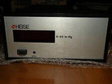 Heise Model 710a Digital Pressure Gauge Range 0 50 In Hg