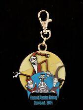 Disney Jack Santa Nightmare Before Christmas Le Glows Lanyard Medallion 2004