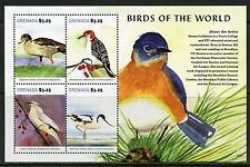 GRENADA 2015 BIRDS OF THE WORLD SHEET MINT NEVER HINGED