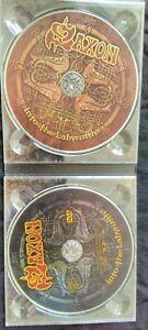 SAXON - Into The Labyrinth Ltd.Edition (PAL) (2009) CD & DVD