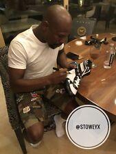 Floyd Mayweather Signed TMT Boxing Boot Las Vegas Signing Photo Proof 🇺🇸🇺🇸