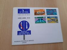 1972 NIGERIA  NIGERIA DRIVES RIGHT FIRST DAY COVER