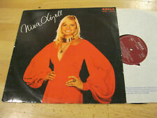 LP Nina Lizell Same Denk an die Sommernacht  Vinyl Amiga DDR 8 55 320