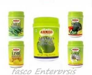 Ahmed Pickle Achar Mixed Mango Lime Chilli and Garlic Achar 1kg Long Expiry Date