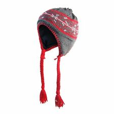 Columbia Peruvian Knitted Ski Hat - Red (Youth / One Size)