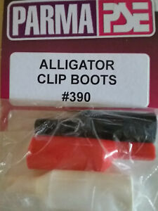 Parma 390 New Alligator Clip Boots - White, Black, Red