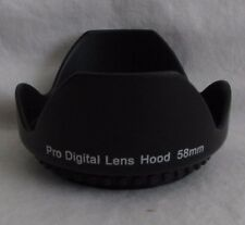 Lens Hood 58mm ProDigital screw in type petal for 18-55mm IS EF-s