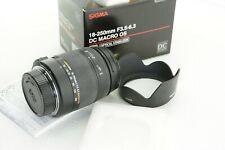 für Nikon AF Sigma DC 18-250 mm F/3.5-6.3 HSM OS OVP(box), GUT