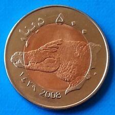 Darfur Sultanate 500 diners 2008 UNC Nile Crocodile Bi-metallic unusual coinage