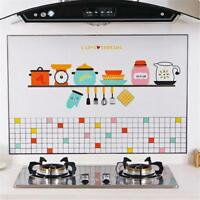 Kitchen Wallpaper Anti Oil Self Adhesive Mosaic Tile Wall Paper Sticker Decor