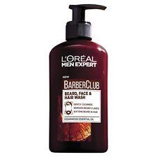 L'Oreal Paris Men Expert Barber Club Beard, Face & Hair Wash Cedarwood Oil 200ml