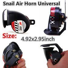 2 pcs Compact Motor Motorcycle Car ATV Loud Snail Air Horn Universal 12V 110dB