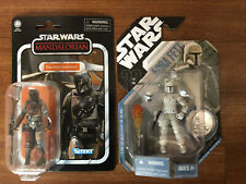 """Star Wars Vintage Collection The Mandalorian VC166 And Concept BOBA FETT 3.75 """""""