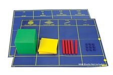 MAB Base Ten Blocks Place Value Mat Only 1 Piece Teacher Resource Maths Primary