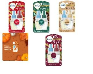 New Glade Plug Ins Scented Oil Refills various scents Pick Your Favorites NIP
