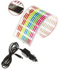 45x11CM Car Sticker Music Rhythm LED Flash Lamp Sound Activated Equalizer